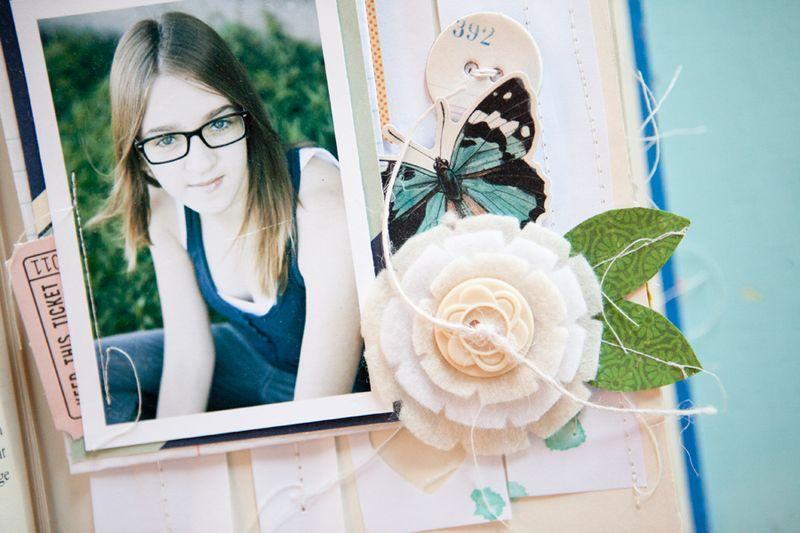 Happy little moments pg 9&10 closeup 2