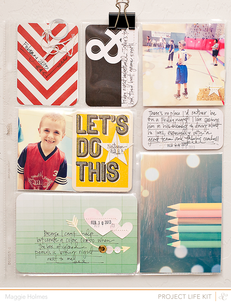 Maggie Holmes Photography And Scrapbooking Blog Project Life