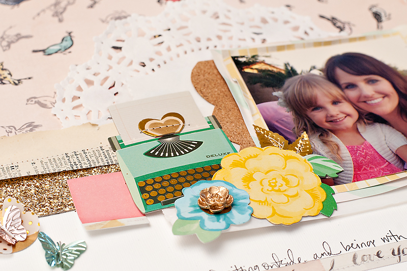 Maggie Holmes Crate Paper Styleboard Scrapbook Page-6
