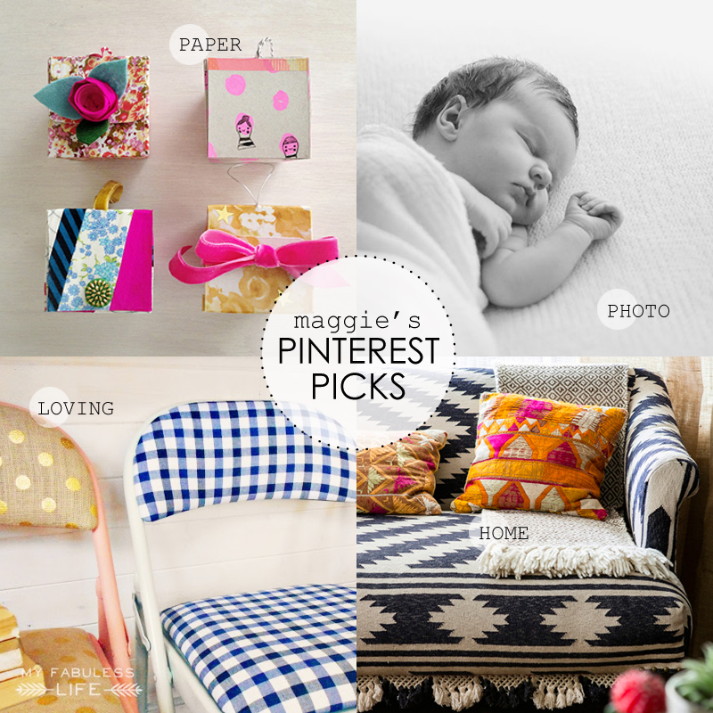 Maggie Holmes Pinterest PIcks August 18