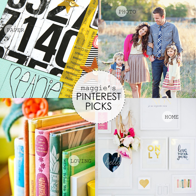 Maggie Holmes Pinterest Picks August 4