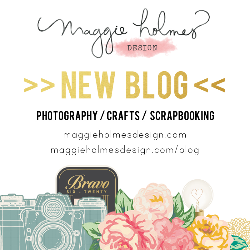 Maggie Holmes NEW Blog Site