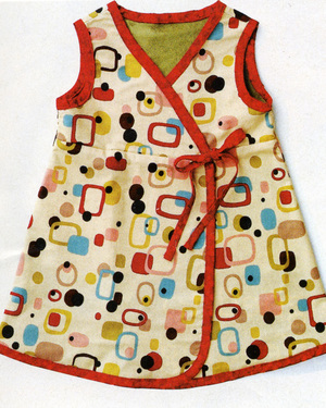 Babydressredtrim